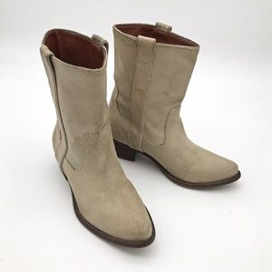 Steve Madden Leather Western Boots 7.5